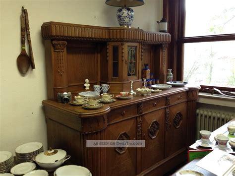 antikes buffet anrichte antike hammer aufsatzbuffet kommode buffet vitrine