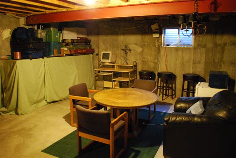 unfinished basement cave search cave