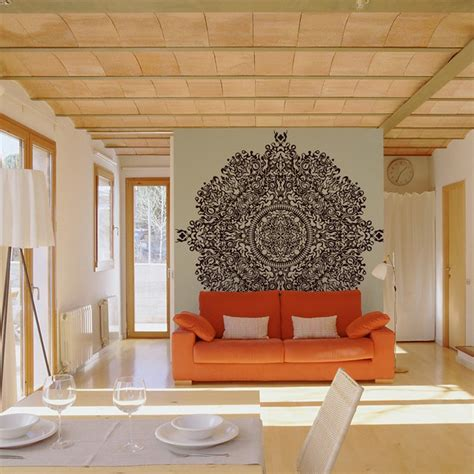 Living Room Wall Murals 20 living rooms with beautiful wall mural designs