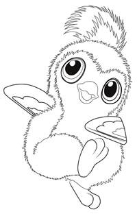 hatchimals coloring pages getcoloringpages