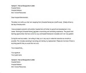 Letter Of Resignation Doc by Resignation Letter Template 40 Free Word Pdf Format