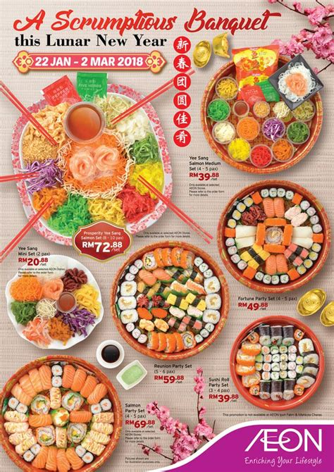 aeon new year promotion aeon supermarket new year delica promotion 22