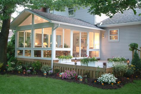 Sunroom On A Deck by Three Four Season Sunrooms Zephyr