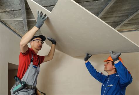 Drywall Installer by Creating A Sound Barrier With Soundproof Drywall Modernize