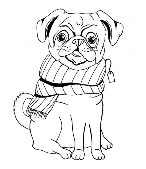 pug line drawing the world s catalog of ideas