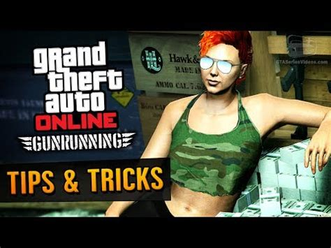 How To Make Money Gaming Online - gta online guide how to make money with gunrunning dlc
