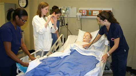 Mba Simulation by Um Pharmacy And Nursing Schools Develop Patient Simulation