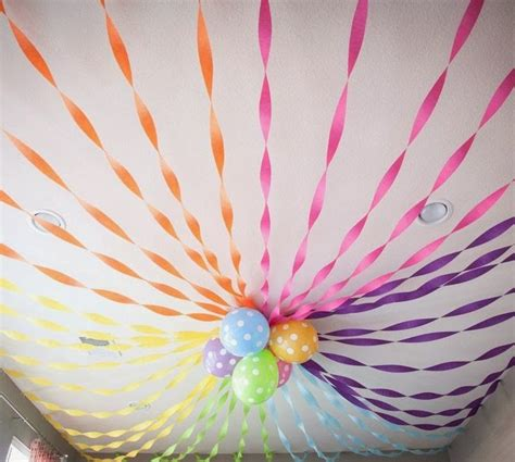 How To Make Paper Streamers - 25 best ideas about birthday decorations on