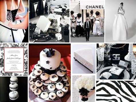 black and white weddng theme need some ideas