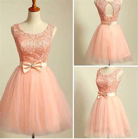 lovely blush pink short ball gwon tulle prom dresses 2015