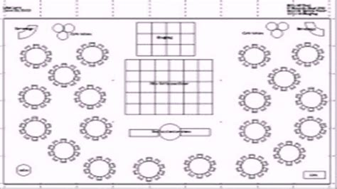 banquet hall layout template banquet hall floor plan template youtube