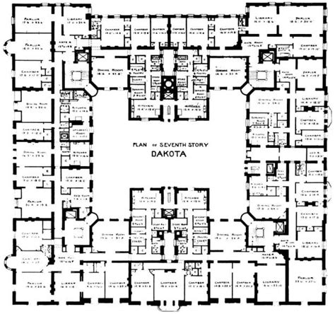 building floor plans nyc the dakota building house