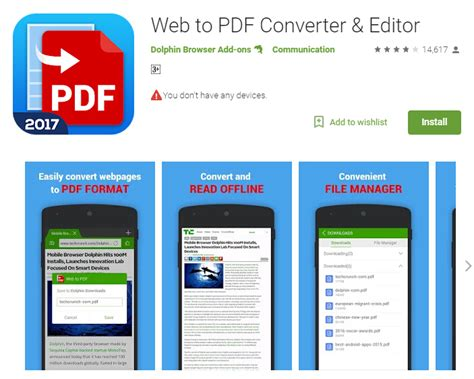 free jpg to pdf converter for android top 5 free android web to pdf converter apps