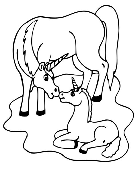 unicorn color page az coloring pages