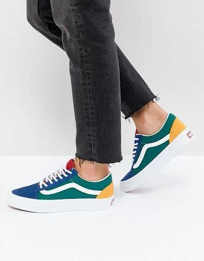 vans colors qoo10 vans skool sneaker in primary color block shoes