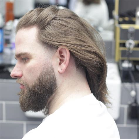 long hair witj side fade long hair ideas for men