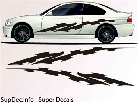Auto Body Decals by Vinyl Auto Body Graphics Exterior Outside Decal Sticker B785