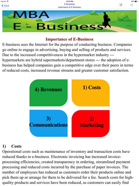 Mba Education Login by App Shopper Mba E Business Education