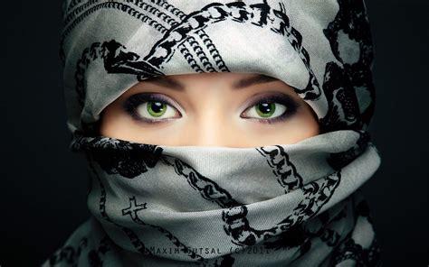 wallpaper girl muslim green eyes muslim girl wallpaper in high resolution free