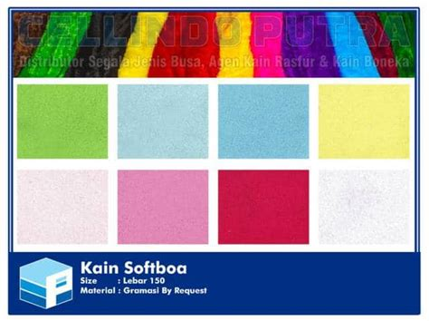 Harga Kain Spunbond Motif Per Meter kain softboa lebar 150cm gramasi bisa request cellindo
