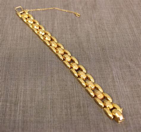 18 Carat Gold Bracelet From Organza by Antiques Atlas 18 Carat Gold Bracelet