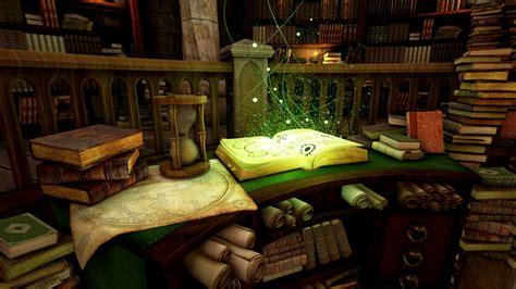 Gothic Style Home Mason Roy Fantasy Library