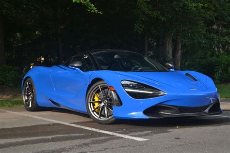 Mclaren 720s Blue by The Mclaren 720s Is A 378k Masterpiece That S Worth Every