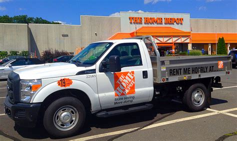 how much does a home depot truck rental cost
