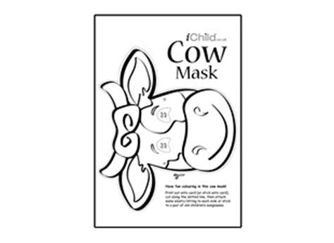 printable animal masks cow spotted cow mask printable template pictures to pin on