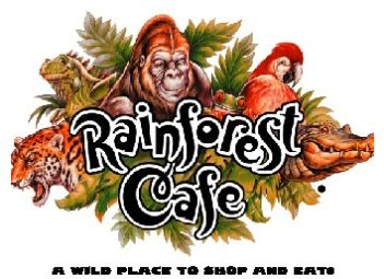 Rainforest Cafe Gift Cards - rainforest cafe 15 gift card for only 7 50 kids can eat for 99