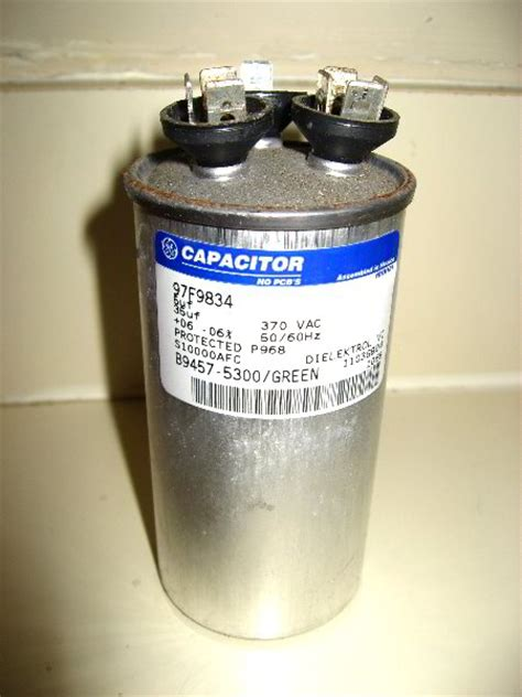 capacitor in air conditioner hvac combo start capacitor replacement 019