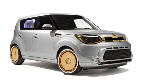Kia Soul Stance Themed Kia Souls Unveiled At Sema