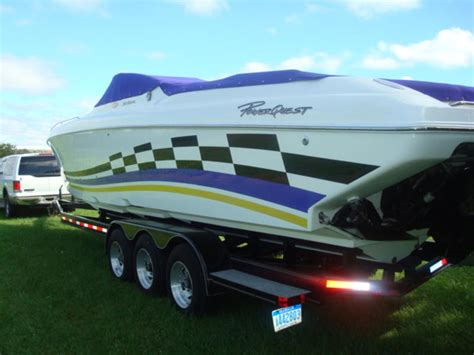 powerquest boats for sale in michigan 1999 powerquest avenger powerboat for sale in michigan