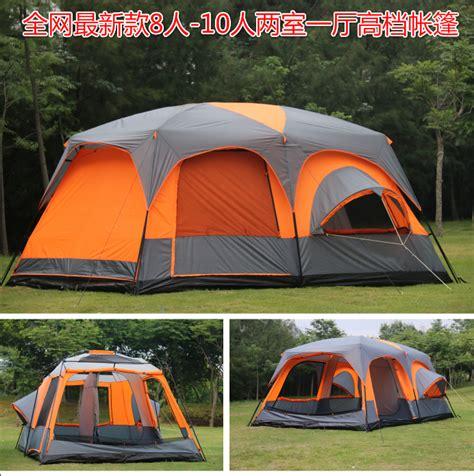 2 bedroom tent aliexpress com buy 6 8 10 12 person 2 bedroom 1 living