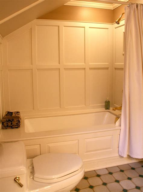 bathtub wall paneling antiqueaholics bathtub surround paneled with corian