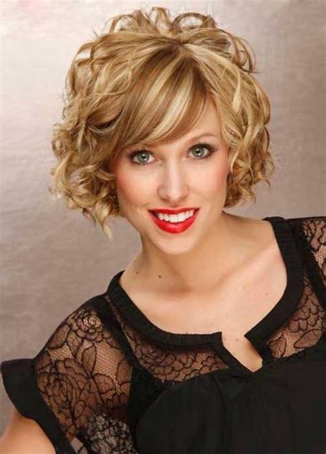 how to curl chin length bob overnight 20 short curly hairstyles with bangs short hairstyles