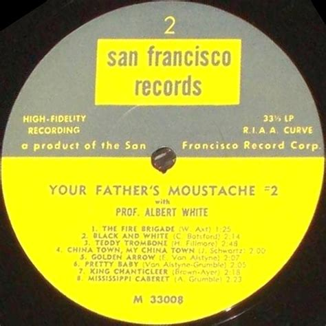 San Francisco Records Cvinyl Label Variations San Francisco Records