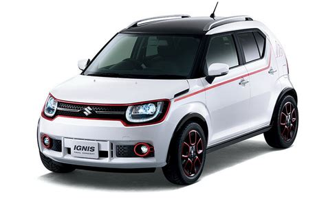 Suzuki Ignis Jsl Two Tones Color Model Sporty Color By Request suzuki to show chunkier ignis trail concept in tokyo carscoops