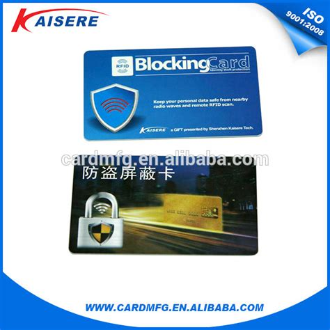 Card Guard Non Packing Limited China Supply 13 56mhz Rfid Blocking Shield Guard Cards For