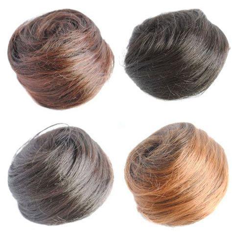 what kind of hair attachment is used for bob marley braids clip on hair bun attachments hair buns pinterest