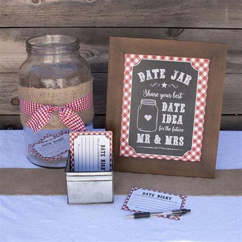 Date Night Jar Sign and Cards, I do BBQ Games, Date Night