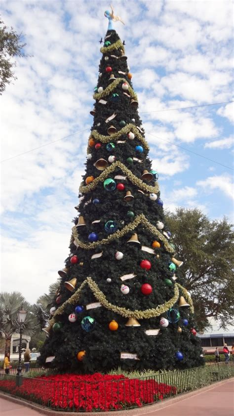 walt disney world christmas trees lady  violetlady  violet