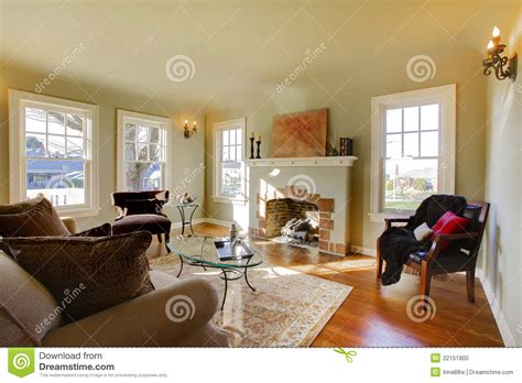 pictures of beautiful living rooms with fireplaces beautiful living room with fireplace stock photo image 22151800