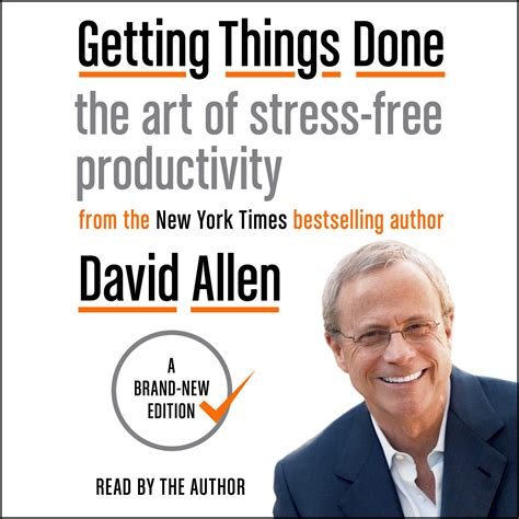 getting books getting things done audiobook by david allen official
