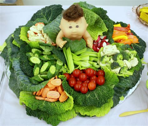it s just baby shower recap - Vegetable Tray For Baby Shower