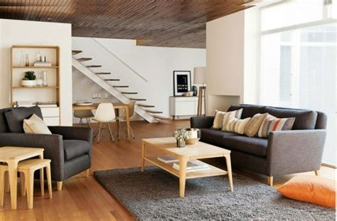 grauer teppich wohnzimmer wohnzimmer grau in 55 beispielen erfahren wie das geht