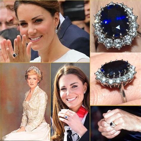 grandidierite engagement ring katemiddleton or you can say diana princess of wales