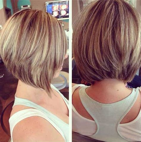 Layered Hairstyles 2016 by Layered Graduated Bob Hairstyles Haircuts