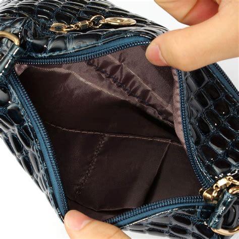 Crocodile Leather Messenger Crossbody Clutch Shoulder Handba fashion leather casual 2pcs crocodile shoulder bag