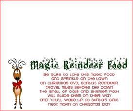 search results for magic reindeer food poem printable